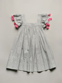 Nellystella Chloe Dress - Love the pom poms