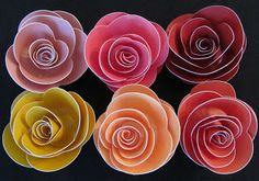 Creating with Christine: Cricut Class - Rose Flower Bouquets