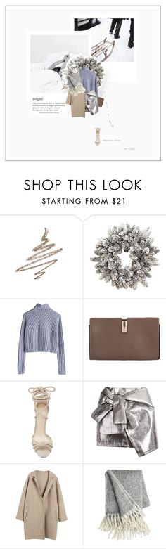 """""""white christmas"""" by elisp ❤ liked on Polyvore featuring Anastasia Beverly Hills, Williams-Sonoma, MTWTFSS Weekday, Anya Hindmarch, Alexandre Birman and WithChic"""