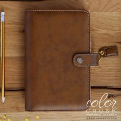 Personal Planner BINDERS ONLY : Walnut
