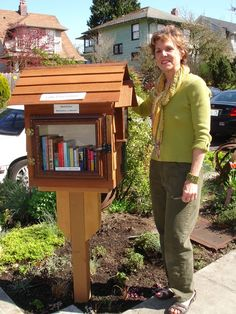 Here's a Little Free Library.