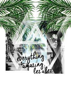 Print t-shirt developed exclusively for collection of Spring Summer Lez a lez 2015.::Estampas em Camisetas desenvolvidas Exclusivamente Pará Coleção de Alto Verão - Lez a lez 2015.