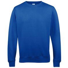 Sweatshirt , Crew neck -  Royal Blue