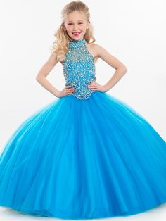 Perfect Angels Little Girl Pageant Ballgown 1604|PageantDesigns.com