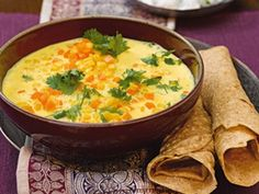 Indische Linsensuppe (Vegan Curry Indian)