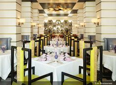 great shot of the Eos Restuarant by kelly wearstler viceroy miami 3 by Sterin, via Flickr