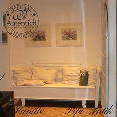 Vanille Autentico kalkmaling på slagbænk, privateje