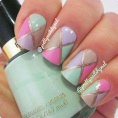 Spring pastels. #nails