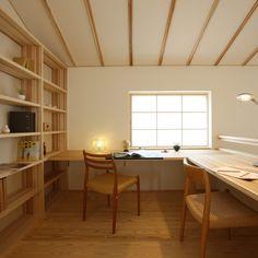 #おうち時間で自分の時間|ブログ|新潟の注文住宅|自然素材の木の家ならナレッジライフ Workspace Inspiration, Home Decor Inspiration, Home Office, Interior Styling, Interior Design, Home Libraries, Interior Exterior, New Room, House