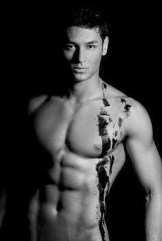 Brazilian Japanese Male Model   ... time to do Muay Thai kickboxing and Brazilian folk dance Capoeira