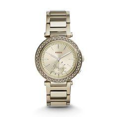 Urban Traveler Multifunction Stainless Steel Watch \u2013 Champagne