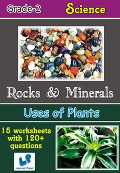 GRADE-2-EVS-ROCKS-MINERALS-USES-OF-PLANTS-WB This workbook contains printable worksheets on Rocks & Minerals and Uses of Plants for Grade 2 students.  There are total 15 worksheets with 120+ questions.  Pattern of questions : Multiple Choice Questions, Fill in the blanks, True and false…    PRICE :- RS.149.00
