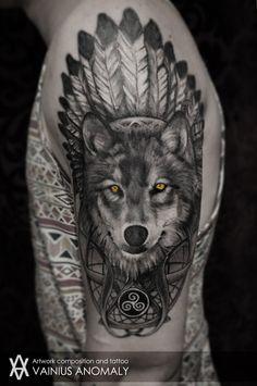 Vainius Anomaly — Tattoo done at DanisTattoo studio in Klaipėda,...