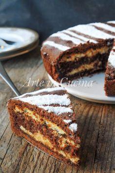 Crostata zuppetta al cioccolato e nutella dolce facile vickyart arte in cucina