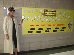 Detective Theme Teacher