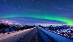 Norwegian Skies by Ren Hui Yoong