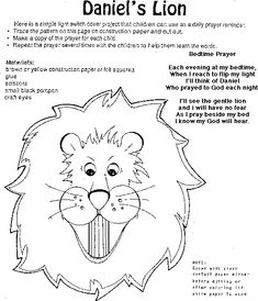 house of hugs daniel in the lions den coloring page
