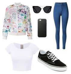 """""""Untitled #6"""" by anna-kinzel on Polyvore featuring Ashish, Quay and Vans"""