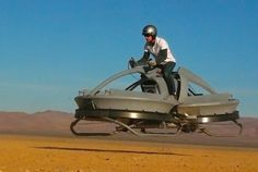 flying hovercraft bike by aerofex from tatouin