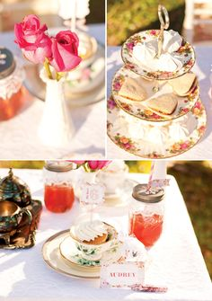 Tea Party Sandwiches | ... & Tutus} Delightful Girls Tea Party // Hostess with the Mostess