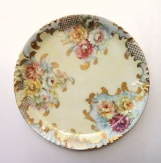 H & Co Limoges Hand Painted Platter