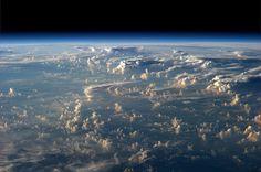 Fotografías tomadas desde la ISS por el geofísico Alexander Gerst.