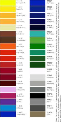 polymere hochleistungs klebefolie in 91 gl nzenden farben als kalibrierte bersicht k chendeko. Black Bedroom Furniture Sets. Home Design Ideas