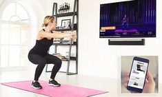 Home workout: Companies like Peloton, Mirror, FightCamp push remote fitness forward – USA TODAY Best Workout Apps, Fun Workouts, At Home Workouts, You Fitness, Fitness Goals, Getting Bored, At Home Gym, Usa Today, Burn Calories