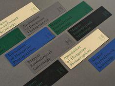 Association of Hungarian Photographers Identity - Mindsparkle Mag Identity Design, Visual Identity, Brand Identity, Stationery Design, Brochure Design, Print Design, Web Design, Ticket Design, Print Layout