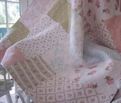 A fabulous throw blanket.    This is from Rachel Ashwell's original shabby chic line