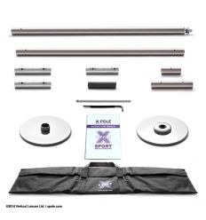Barre X-Pole X-sport Stainless