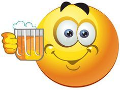 Cheers to beer smiley Animated Smiley Faces, Emoticon Faces, Animated Gif, Funny Emoticons, Funny Emoji, Emoticons Text, Symbols Emoticons, Emoji Images, Emoji Pictures