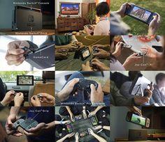 多形态的 Nintendo Switch,背后是任天堂再一次对娱乐方式的革新