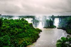 Iguazu Falls - Taken 2 years ago during my trip to Argentina. Iguazu is one of the most stunning places Ive ever seen.