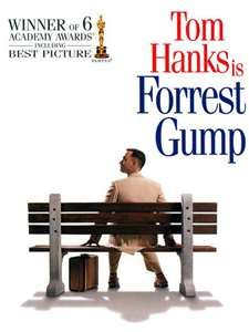Forrest Gump is a 1994 American epic romantic comedy-drama film based on the 1986 novel of the same name by Winston Groom. The film was directed by Robert Zemeckis and starred Tom Hanks, Robin Wright, Gary Sinise and Sally Field. Dvd Film, Film Music Books, Film Serie, Dvd Dvd, Gary Sinise, Robin Wright, Tom Hanks, See Movie, Movie Tv