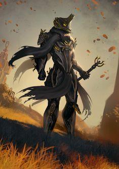 Dragon and warrior, fantasy, art, wallpaper Warframe Excalibur, Warframe Art, Armor Concept, Concept Art, Warframe Wallpaper, Character Concept, Character Art, 480x800 Wallpaper, Character Illustration