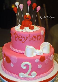 Elmo party color ideas: Pink, Red & Orange