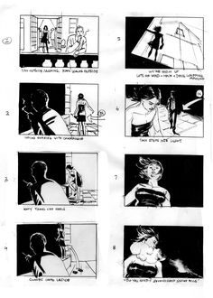 More Realistic Artwork On Storyboard  Storyboards And Comic Style