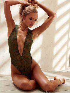 Romee Strijd for Victoria's Secret Lingerie