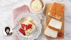 GÂTEAU DES ANGES, MOUSSE CITRON ET FRAISES #IGA #Recettes #Dessert