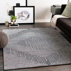 Carson Carrington Sturup Diamond Area Rug