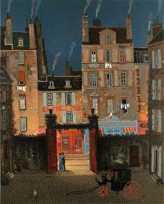 Michel Delacroix, Le Bonheur, Lithograph on Paper, Limited Edition