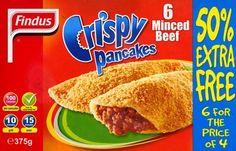 Findus Crispy Pancakes