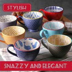 2019 New Trend Ceramics Hand-painted Retro Creative Coffee Cup Coffee Bar Relief Personality Breakfast Milk Cup Exquisite Gifts Pretty Mugs, Cheap Coffee, Brunch, Creative Coffee, Breakfast Cups, Trendy Home Decor, Ceramic Coffee Cups, Milk Cup, Fun Cup