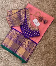 Cutwork Blouse Designs, Kids Blouse Designs, Wedding Saree Blouse Designs, Pattu Saree Blouse Designs, Simple Blouse Designs, Blouse Back Neck Designs, Stylish Blouse Design, Mirror Work Blouse Design, Sarees