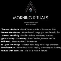 These are my morning rituals and the reasons why! Adapting spirituality into you… These are my morning rituals and the reasons why! Adapting spirituality into your daily life will harmonize your mind, body and soul. Mind Body Soul, Body And Soul, Mind Body Spirit, Stress, Reiki, Chakra Heilung, Yoga Nature, Zen Yoga, Yoga Meditation