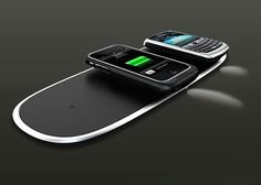 The Power Mat, every desk must have it. A charging station for any phone- get rid of the cords embrace the mat!