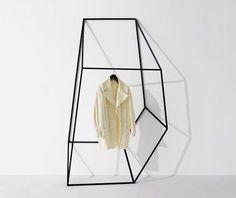 Geometric Clothing and Coat Racks by John Tong