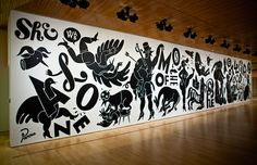 artists, street art, murals, weird, parra, san francisco, illustr, design, sfmoma