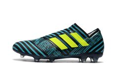 quality design fc36f 5ec2b 2017-2018 FIFA World CUP New Soccer Cleats Adidas Nemeziz 17+ 360 Agility FG  Blue Black Yellow
